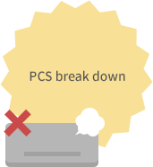 PCS break down
