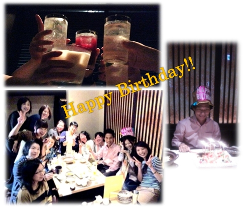 社長Birthday Party