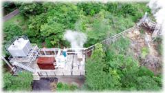 イワテック第一温泉発電所竣工式